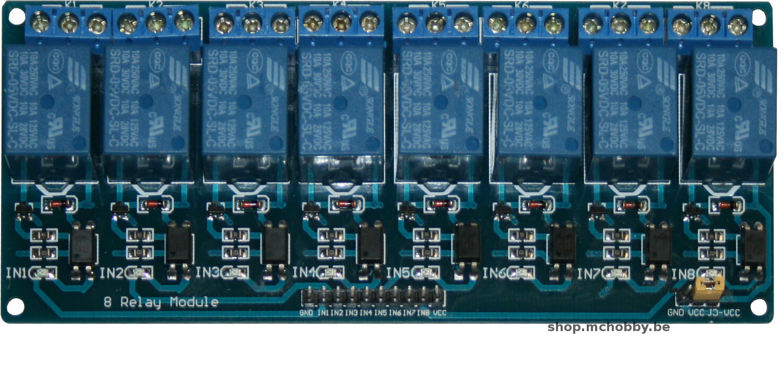 Module Relais B on Arduino Relay Module 12v