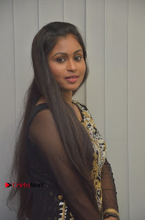 Tamil Actress Shreya Sri Stills in Black Akarkali Dress at Vanga Vanga Team Interview  0008.jpg