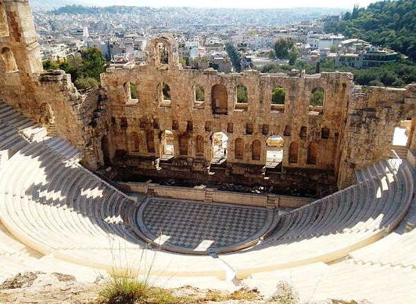 Dyonisius Tempat Teater Yunani Kuno Beserta Gambar