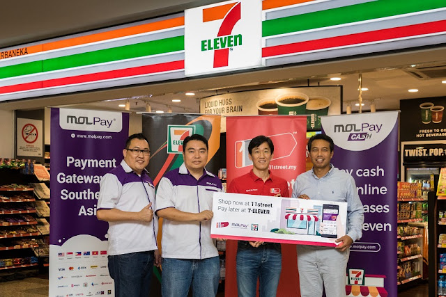 11street introduces offline payment convenience with MOLPay Cash @ 7-Eleven