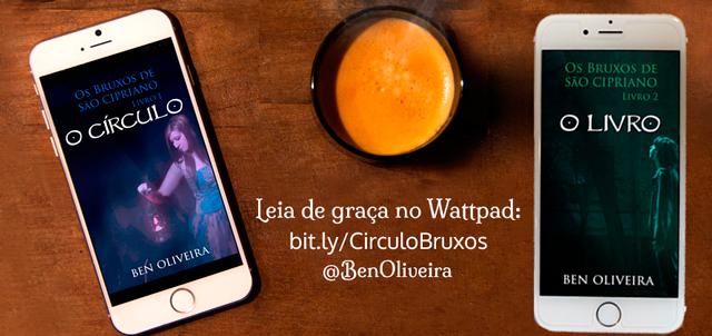 Capas dos livros O Círculo e O Livro, do autor Ben Oliveira