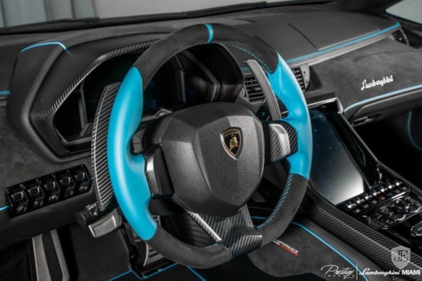 Bright Blue Lamborghini Centenario Listed For Sale
