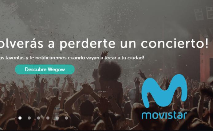 Movistar y Wegow acuerdan la compra de entradas