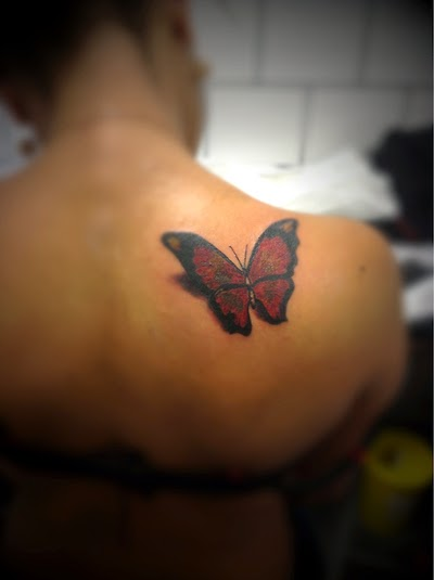 Tatuajes 3d De Mariposas Para Mujeres Tatuajes Para Mujeres