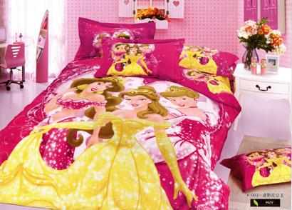 Sprei Satin Jepang Super Princess Pink