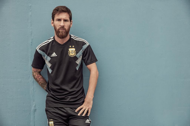 65519cf7751 Argentina 2018 World Cup Away Kit Released - Footy Headlines