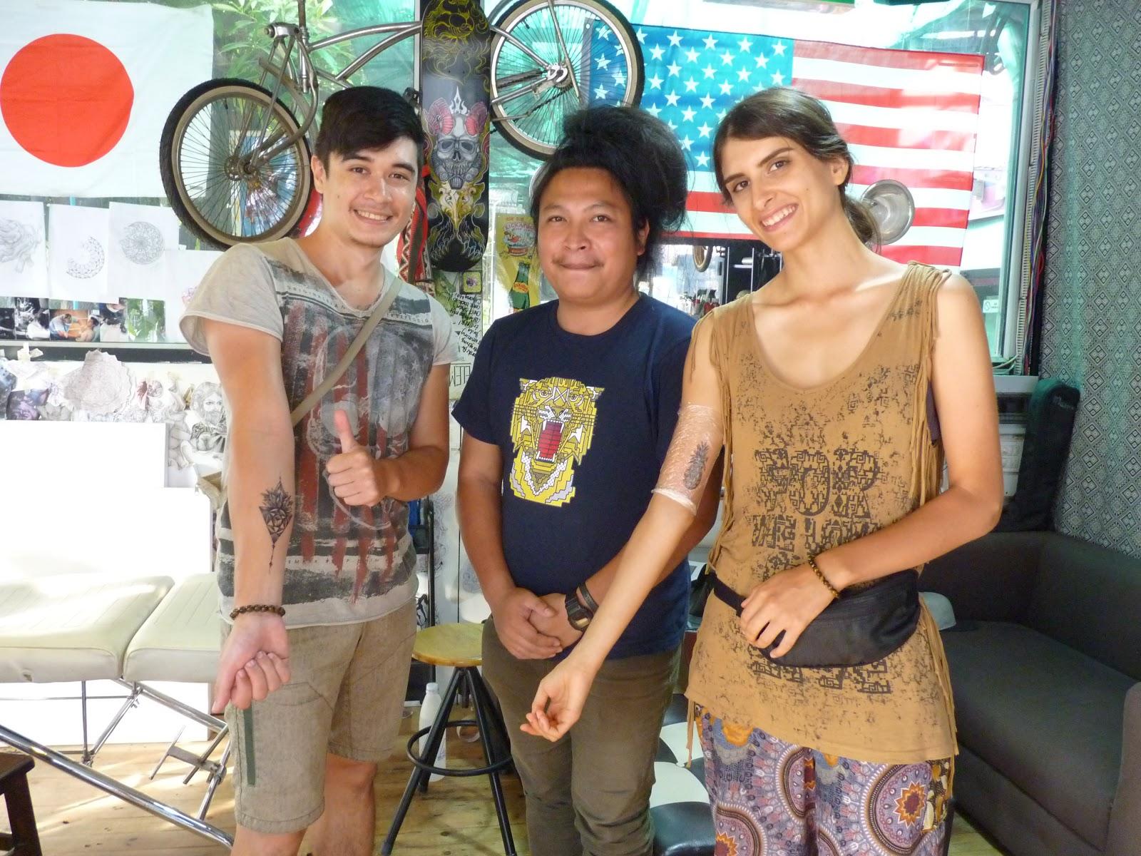 Tatouage en Thaïlande, novembre 2018