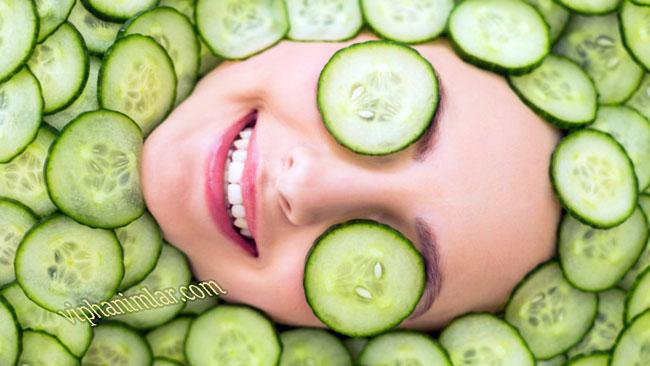 Salatalık ile Güzellik ve Sağlık