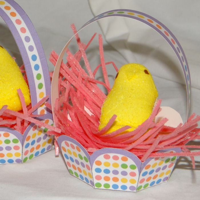 Mini Basket for Easter