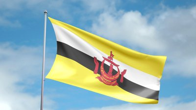 Brunei Uk Flag