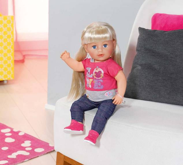 Chic Geek Diary Baby Born Interactive Sister Doll