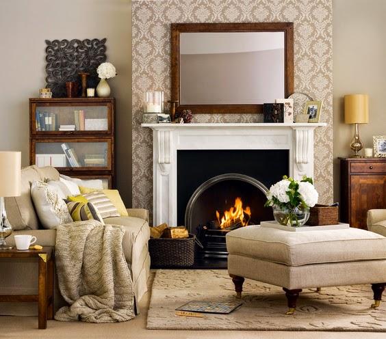 Acogedoras salas peque as salas con estilo for Alfombras para sala pequena