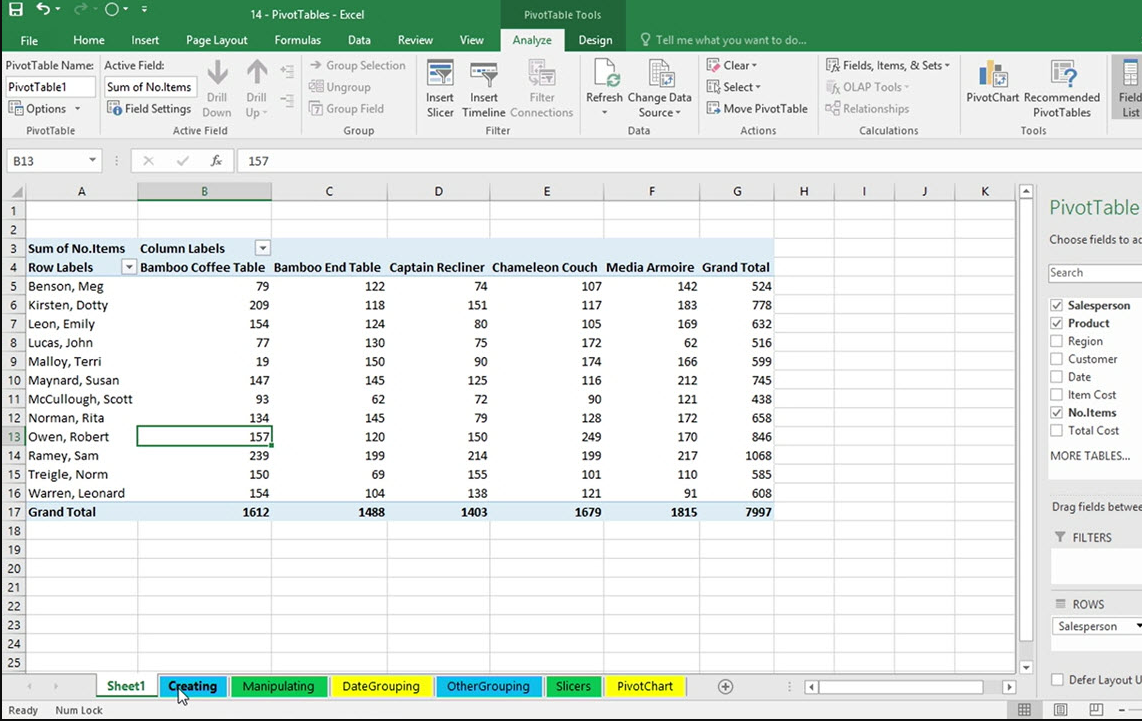 how to create a table in excel 2010