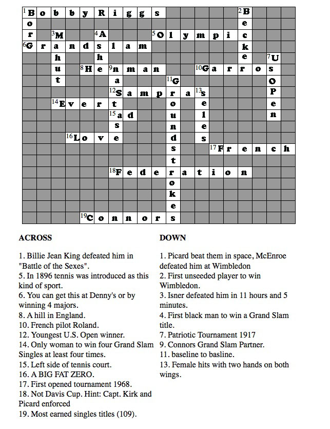 christmas crossword puzzle. Black Bedroom Furniture Sets. Home Design Ideas
