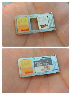 Slot SIM Card Hybrid Oppo F3 Plus