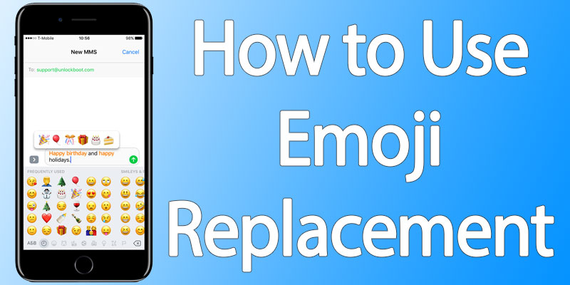 automatic emoji on iphone