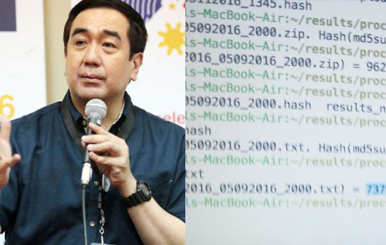 COMELEC chair confirmed Smartmatic tampered script of transparency server