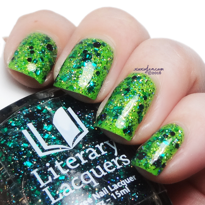 xoxoJen's swatch of Literary Lacquers Louis