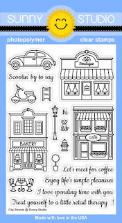 Sunny Studio Stamps: Introducing New City Streets Stamp Set