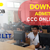 Download NIELIT CCC Admit Card MAy 2019 - Direct Link