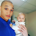 """Scandal's """"Quinton"""" Brighton Ngoma Adorable Pics Of Him And His Son"""