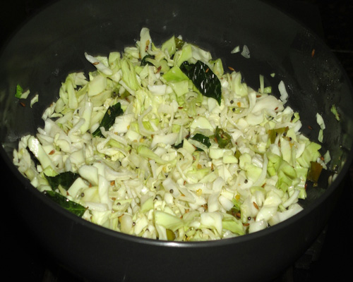 stir to combine ingredients