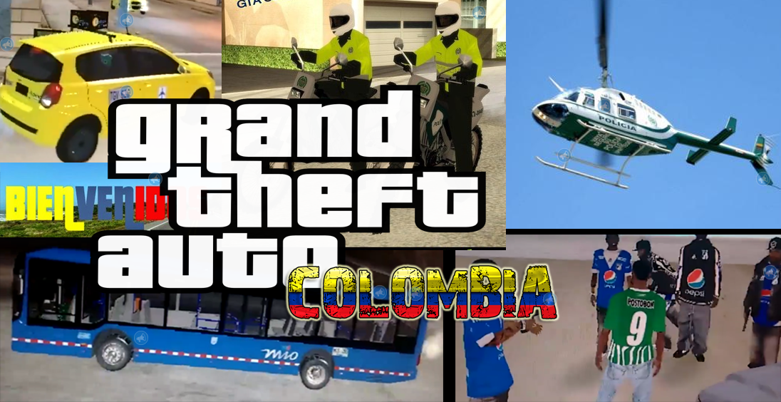 Video Gta San Andreas Version Colombia Enterate Cali