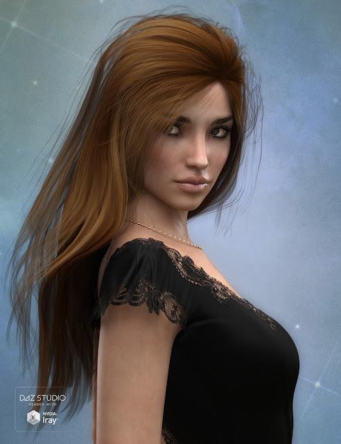 Long Hair for Genesis 3 Female