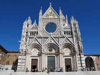 The Cathedral of St Mary of the Assumption in Siena