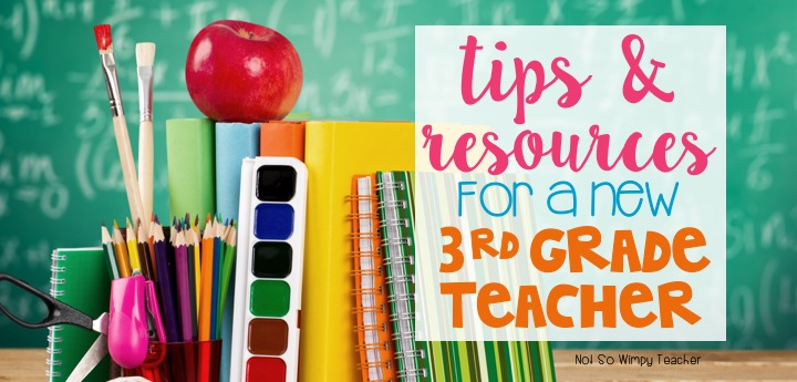 Diary Of A Not So Wimpy Teacher Tips And Resources For New Third
