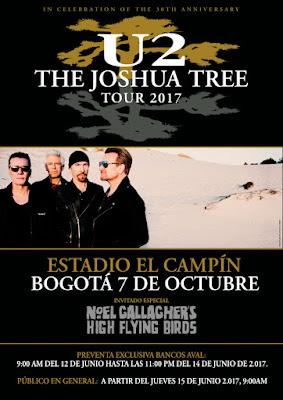 CONCIERTO DE U2 EN BOGOTA