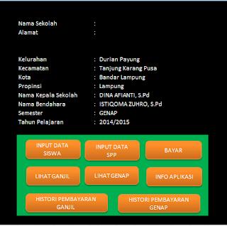 Download Aplikasi SPP Untuk Pembayaran Sekolah SD, SMP, SMA, SMK Terbaru
