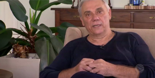 Marcelo Rezende diz esta com câncer no pâncreas: 'Não tenho medo da morte'