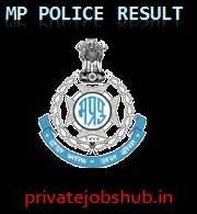 MP Police Result