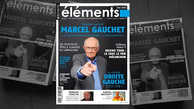 Marcel Gauchet dans Eléments n°164