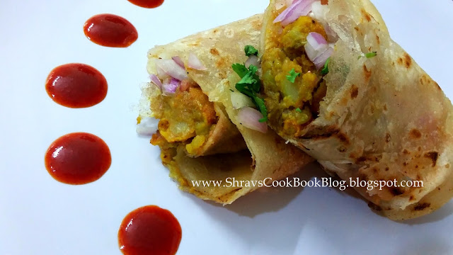 recipe of veg frankie