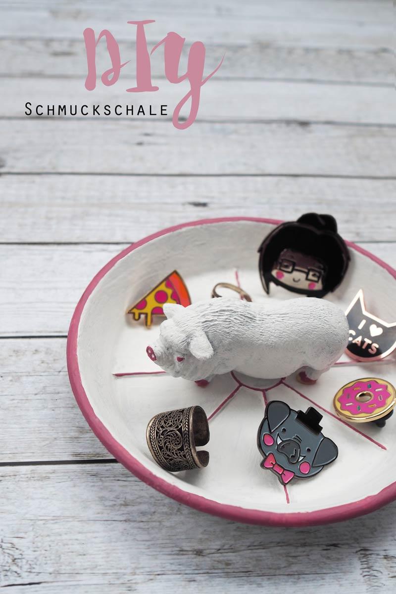 KuneCoco • DIY • Schmuckschale mit Schwein