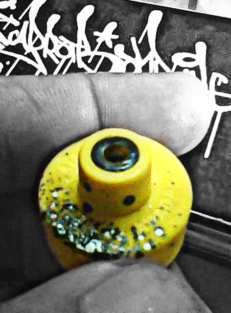 Art Is The Proper Task Of Life Spray Paint Caps