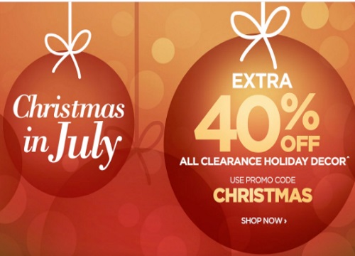 The Shopping Channel Christmas In July 40% Off Clearance Holiday Decor Promo Code