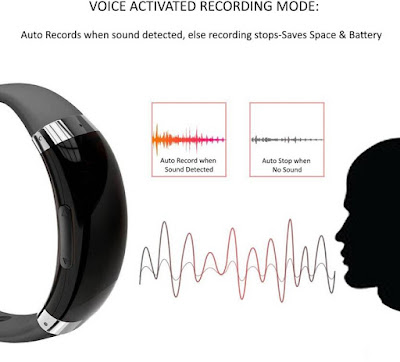 New Gadget for Recording Voice