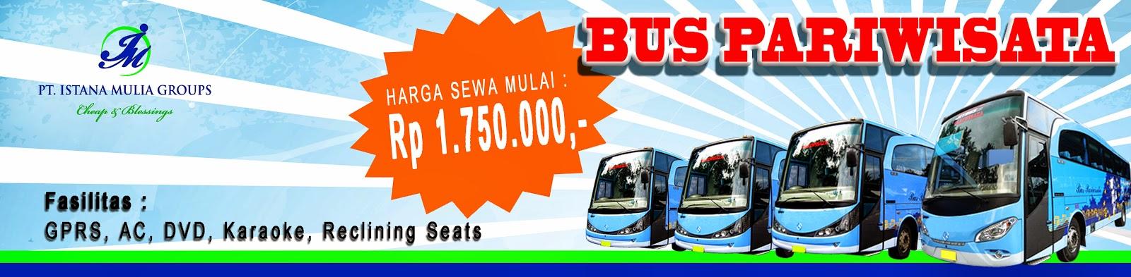 harga sewa bus murah