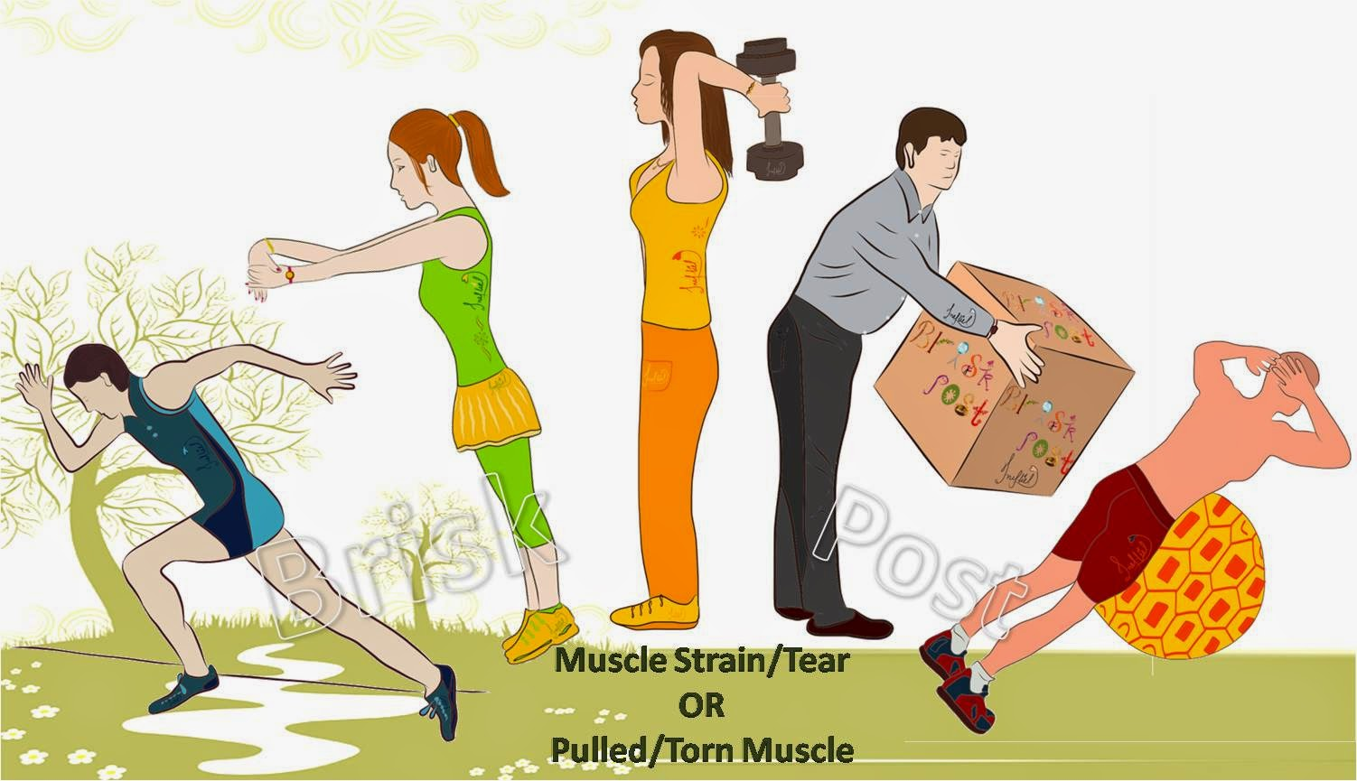 Muscle Strain: Causes, Symptoms and grades of Muscle Tear or Pulled Muscle or Torn Muscle