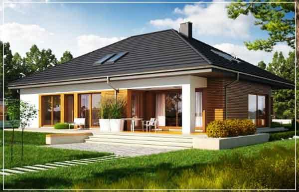 deain rumah villa minimalis idaman