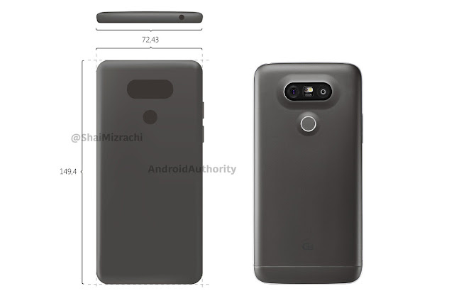 We expect a LG G6 similar to the G5, wants to be in the market before the Samsung Galaxy S8