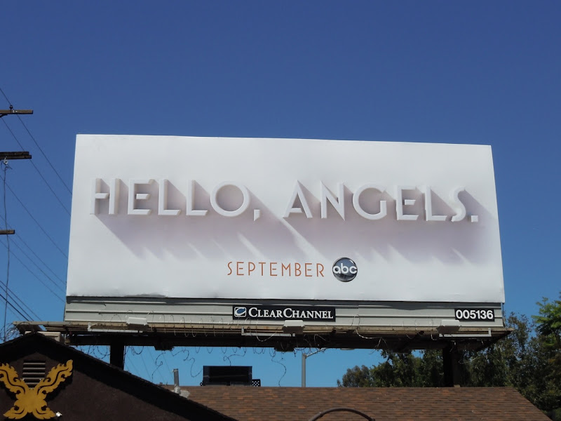 Hello, Angels TV billboard