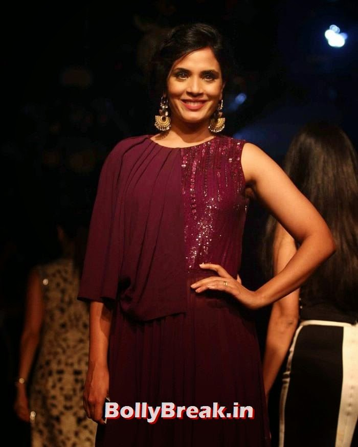 Richa Chadda, Pics of Manish Malhotra Show at Lakme Fashion Week 2014