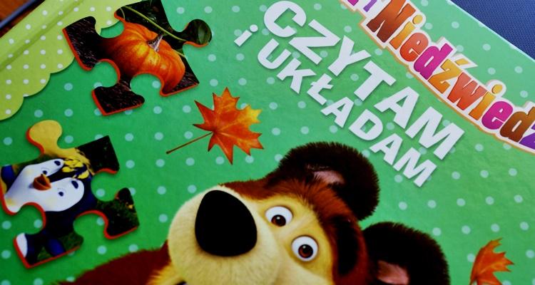 Masza i Niedźwiedź. Czytam i układam puzzle Egmont