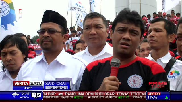 Takkan Pilih Jokowi, KSPI Isyaratkan Dukung Rizal Ramli Pada Pilpres 2019