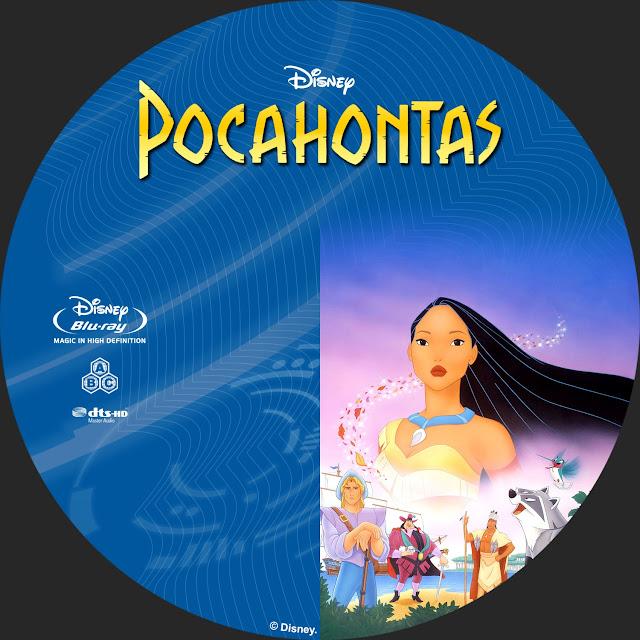 Pocahontas Bluray Label