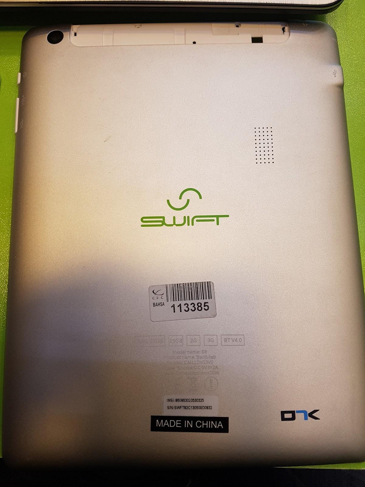firmware Swift-Tab-s8_II_82CB5G